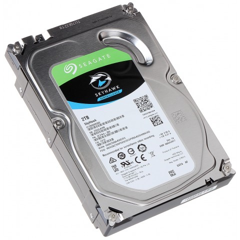 HDD PRE DVR HDD-ST2000VX008 2TB 24/7 SKYHAWK Seagate