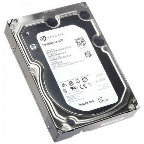 HDD PRE DVR HDD-ST6000VX0001 6TB 24/7 SURVEILLANCE SEAGATE