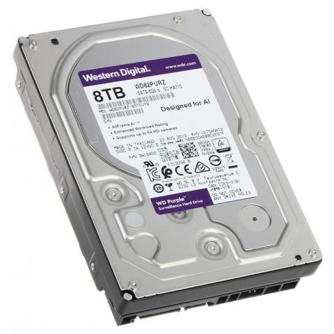 HDD PRE DVR HDD-WD82PURZ 8TB 24/7 WESTERN DIGITAL