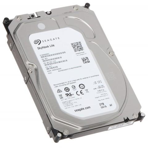 HDD PRE DVR HDD-ST2000VX007 2TB 24/7 SKYHAWK Lite SEAGATE