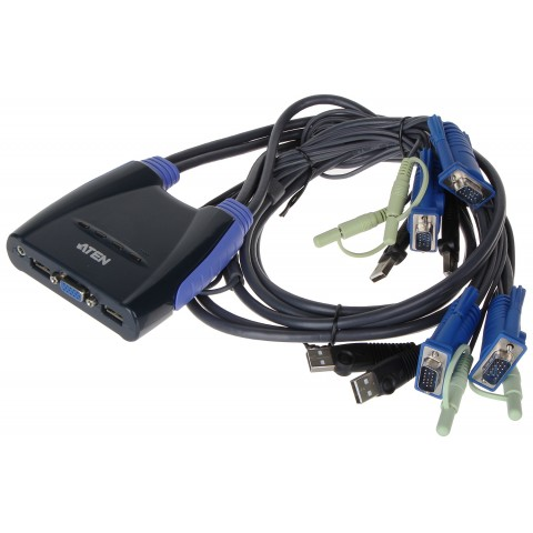 PREPÍNAC VGA + USB CS-64US