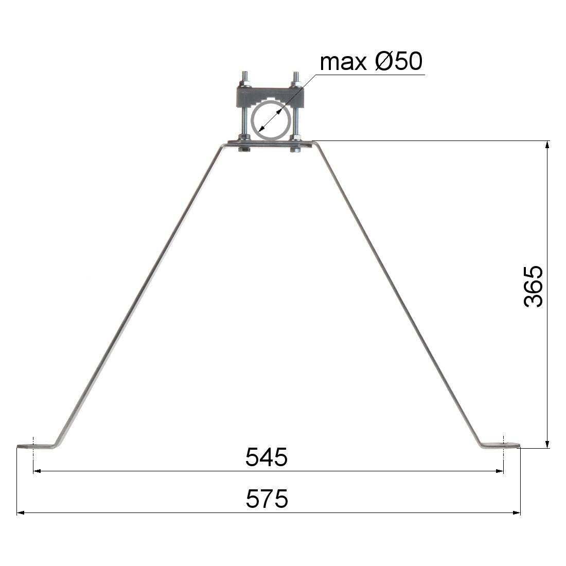 NÁSTENNÝ DRŽIAK OMP-50L40