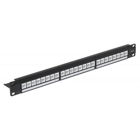 PATCH PANEL KEYSTONE PP-24/RJ-FX/6C