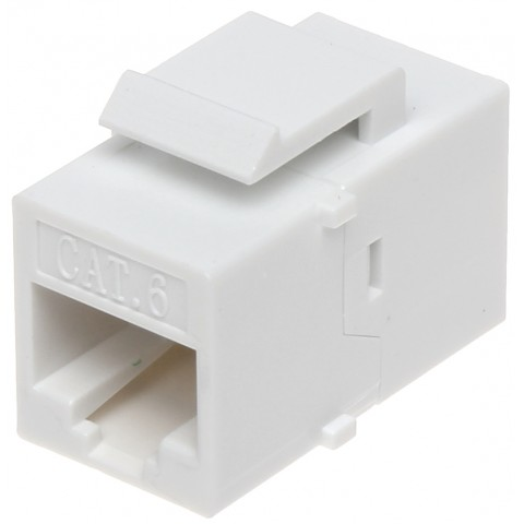 KONEKTOR KEYSTONE FX-RJ45-G/RJ45-G/6