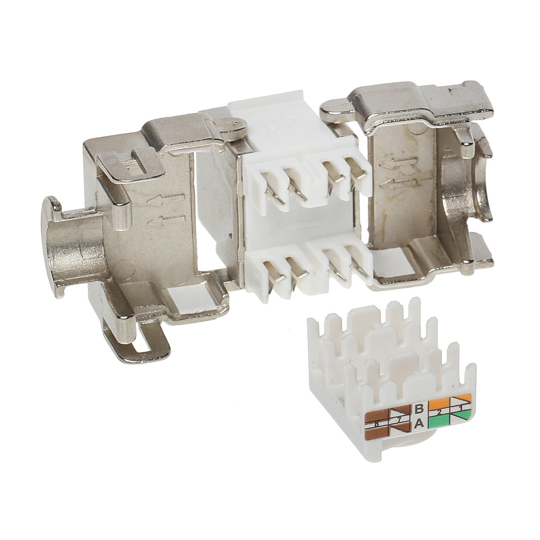 KONEKTOR KEYSTONE FX-RJ45-6A-01