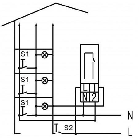 Schématické znázornenie možnej inštalácie