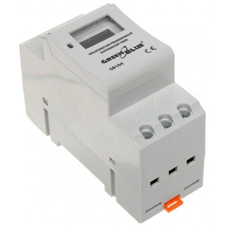 PROGRAMOVATELNÝ ELEKTRONICKÝ CASOVÝ PREPÍNAC GB-104