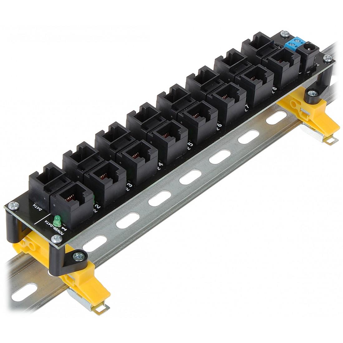 Zariadenie možno pohodlne inštalovat napr. na kolajnici DIN TS-35
