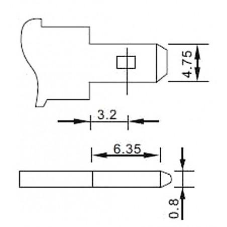 BATÉRIA 12V/5AH-MW MW POWER