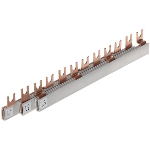 HREBENOVÁ NAPÁJACIA SPOJOVACIA LIŠTA LE-607047 16 mm² 400 V AC LEGRAND