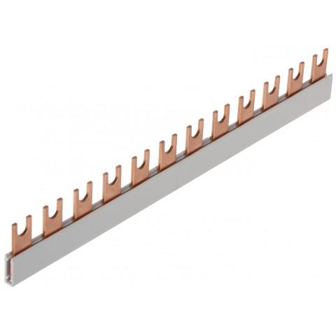 HREBENOVÁ NAPÁJACIA SPOJOVACIA LIŠTA LE-607045 16 mm² 230 V / 400 V AC LEGRAND