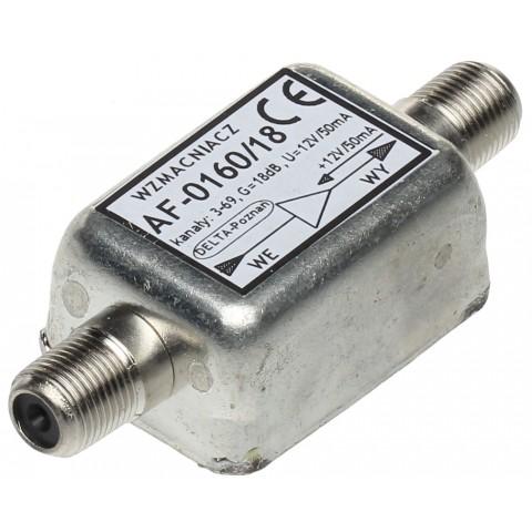 ZOSILNOVAC AF-0160/18 18dB k.3-69