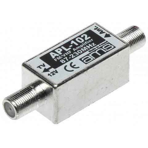 ANTÉNNY ZOSILNOVAC APL-102 FM / VHF / DAB AMS