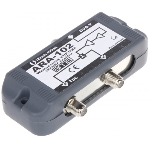 ANTÉNNY ZOSILNOVAC ARA-102 11 / 14 dB