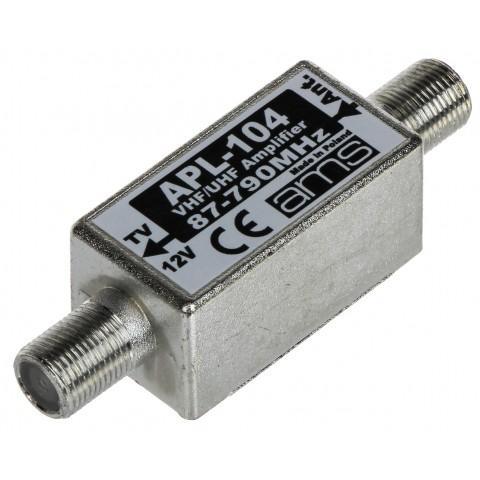 ANTÉNNY ZOSILNOVAC APL-104 FM / VHF / UHF AMS