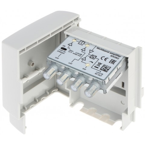 ANTÉNNY ZOSILNOVAC MX-062 FM / VHF / UHF 12V TERRA