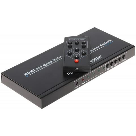 DELIC OBRAZU HDMI-SW-4/1P-PIP