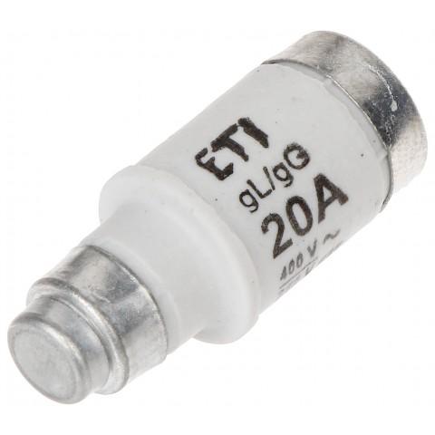 POISTKOVÁ VLOŽKA ETI-D02/20A 20 A 400 V gL/gG E18 ETI