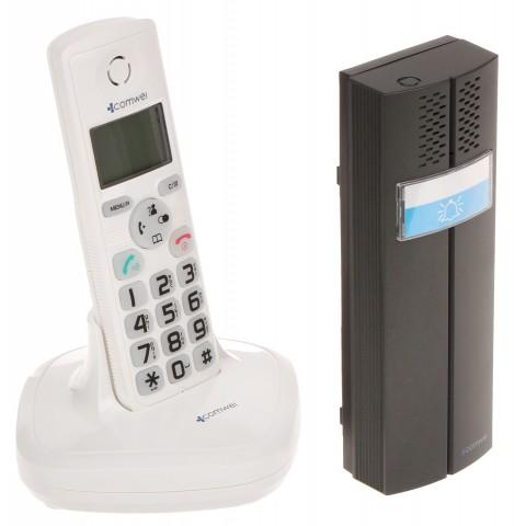 BEZDRÔTOVÝ DOMÁCI TELEFÓN S FUNKCIOU TELEFÓNU D102W COMWEI