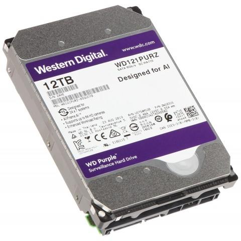 HDD PRE DVR HDD-WD121PURZ 12TB 24/7 WESTERN DIGITAL