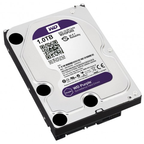 HDD PRE DVR HDD-WD10PURX 1TB 24/7 WESTERN DIGITAL