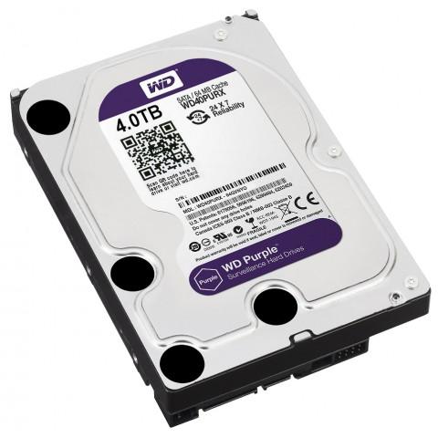 HDD PRE DVR HDD-WD40PURX 4TB 24/7 WESTERN DIGITAL