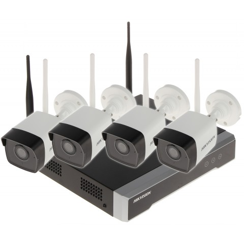 MONITOROVACÍ SÚBOR NK42W0-1T(WD) Wi-Fi, 4 KANÁLY - 1080p 2.8 mm Hikvision