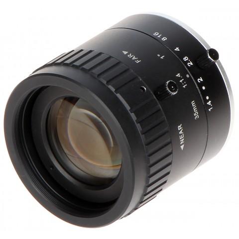 STÁLY OBJEKTÍV MEGA-PIXEL PFL35-K10M 35 mm DAHUA