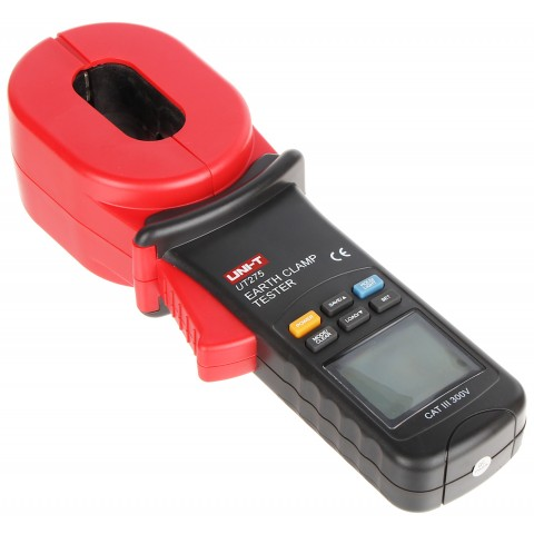 CLAMP METER FOR EARTHING RESISTANCE AND LEAKAGE CURRENT UT-275 UNI-T