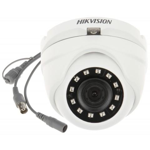 KAMERA ODOLNÁ VOCI VANDALOM AHD, HD-CVI, HD-TVI, PAL DS-2CE56D0T-IRMF(2.8mm)(C) - 1080p Hikvision