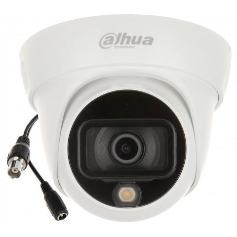 KAMERA AHD, HD-CVI, HD-TVI, CVBS HAC-HDW1509TL-A-LED-0360B Full-Color - 5 Mpx 3.6 mm DAHUA