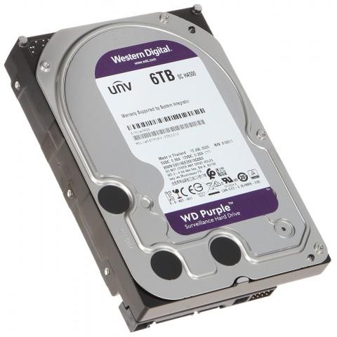 HDD PRE DVR HDD-WD61PURX 6TB 24/7 WESTERN DIGITAL