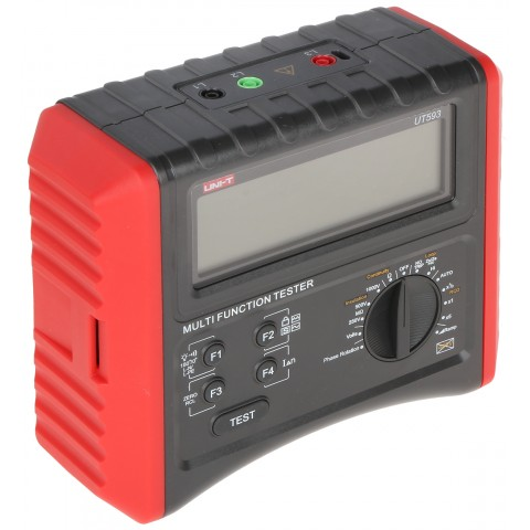 MULTIFUNCTION METER FOR ELECTRICAL INSTALLATIONS UT-593 UNI-T
