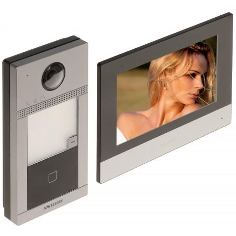 SÚPRAVA DOMÁCEHO VIDEO TELEFÓNU DS-KIS604-S(B) Hikvision