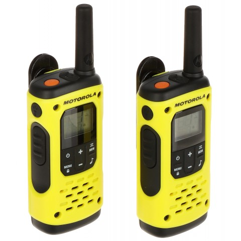 SET OF 2 PMR RADIOS MOTOROLA-T92/H2O 446.1 MHz ... 446.2 MHz
