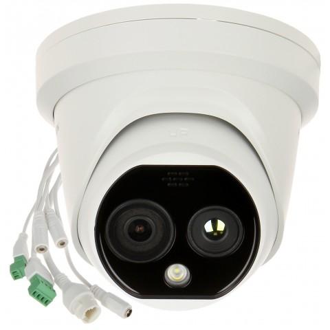 HYBRIDNÁ KAMERA S TERMOVÍZIOU IP DS-2TD1217-2/PA 1.8 mm - 720p, 2.1 mm - 4 Mpx Hikvision