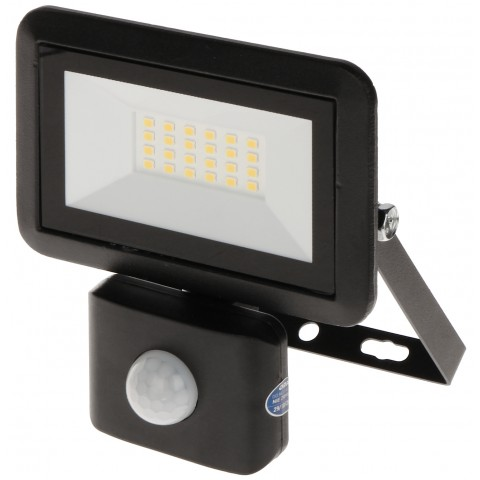 LED FLOODLIGHT WITH MOTION SENSOR OR-NL-6136BLR4 ORNO