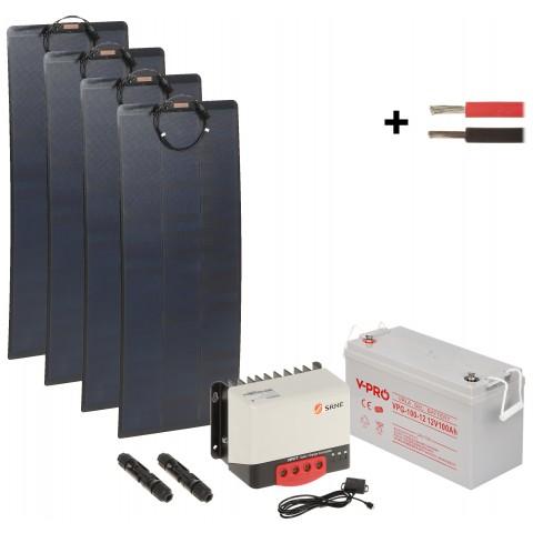 SOLAR KIT SP-KIT-4X110/100/MPPT+BT 1190 Wh