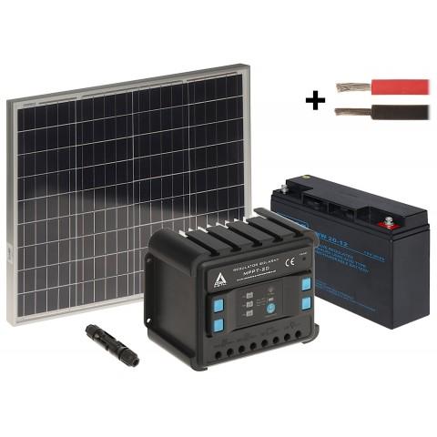 SOLAR KIT SP-KIT-50/20/MPPT 135 Wh