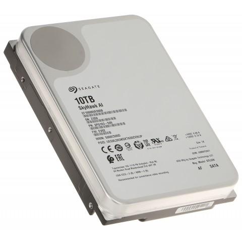 HDD PRE DVR HDD-ST10000VE0008 10TB 24/7 SkyHawk AI SEAGATE